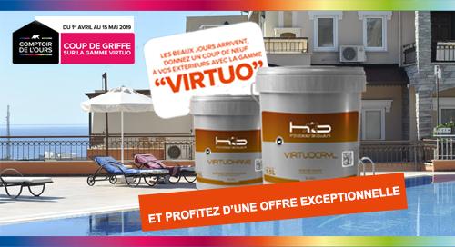 Offres sur les peintures pour façades Virtuo HBF